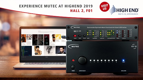 Visit us at High End 2019